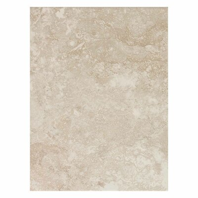 Sandalo 9 x 12 Ceramic Field Tile in Serene White