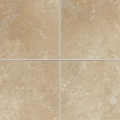 Huston 6 x 6 Ceramic Field Tile in Acacia Beige