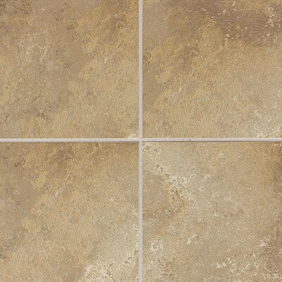 Huston 6 x 6 Ceramic Field Tile in Raffia Noce