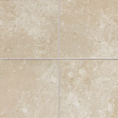 Sandalo 6 x 6 Ceramic Field Tile in Serene White