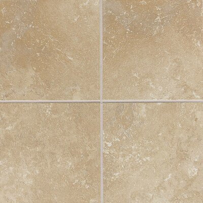 Sandalo 18 x 18 Ceramic Field Tile in Acacia Beige