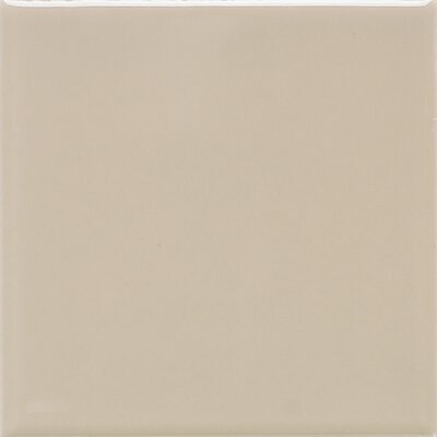 Modern Dimensions 4.25 x 12.75 Ceramic Fabric Look/Field Tile in Matte Urban Putty