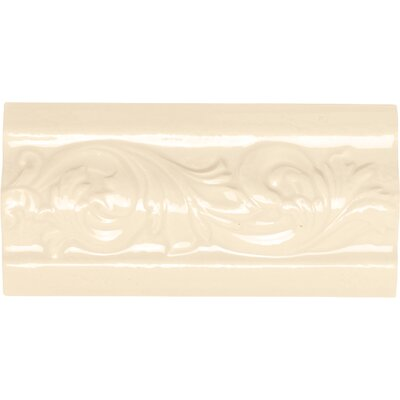 Rittenhouse Square 6 x 3 Classic Decorative Accent in Kohler Almond