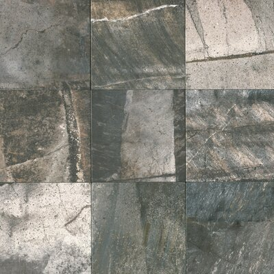 Ramires 13 x 13 Field Tile in Deep Grey