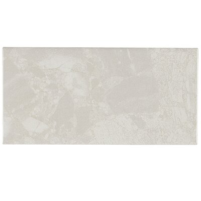 Bedford 8 x 4 Ceramic Field Tile in White Water
