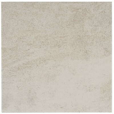 Avondale 12 x 12 Porcelain Field Tile in Chateau Creme