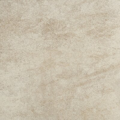 Avondale 18 x 18 Porcelain Field Tile in Chateau Creme
