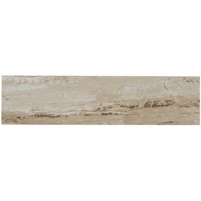 Mansfield Unpolished 6 x 24 Porcelain Field Tile in Sandy Flats
