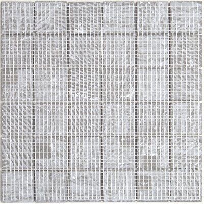 Fabrique 2 x 2 Ceramic Fabric Look/Field Tile in Gris Linen