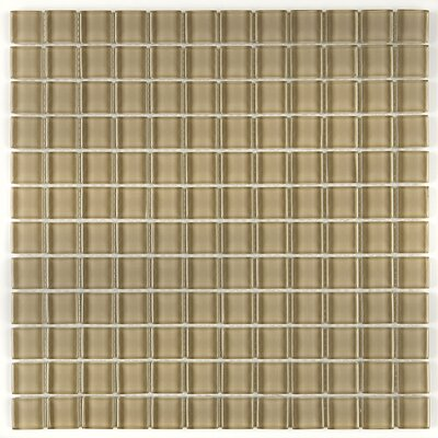 Geneva 12 x 12 Mosaic Field Tile in Tango Tan