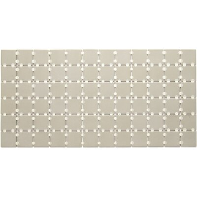 Dalton 2 x 2 Porcelain Mosaic Tile in Architectural Gray