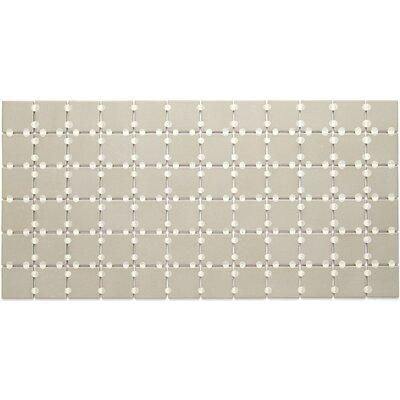 Dalton 2 x 2 Porcelain Mosaic Tile in Architectural Gray