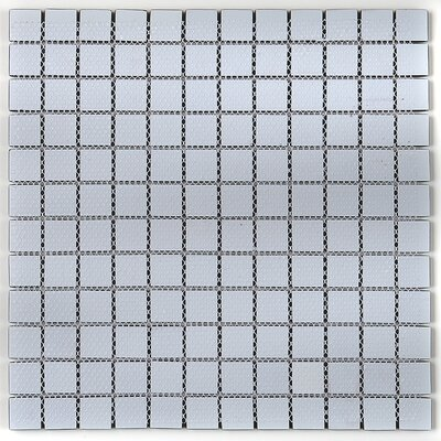 Geneva 1 x 1 Glass Mosaic Tile in Top Hat