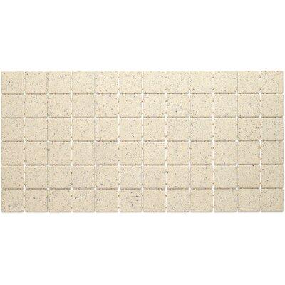 Dalton 2 x 2 Porcelain Mosaic Field Tile in Buffstone Range