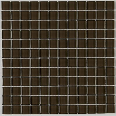 Geneva 11.88 x 11.88 Glass Mosaic Tile in Suede Shoes