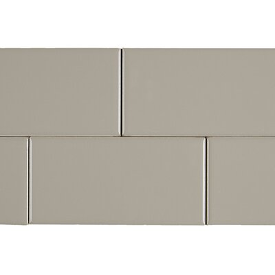 Guilford 3 x 6 Subway Tile in Uptown Taupe