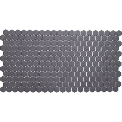 Dalton 1 Hexagon Mosaic in Black