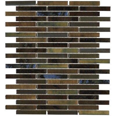 Morrison 0.63 x 3 Glass Mosaic Tile in Meadow