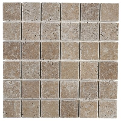 Hopkins 2 x 2 Natural Stone Field Tile in Light Noce
