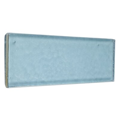 Williamsburg 2.5 x 8 Glass Mosaic Tile in Sky Blue