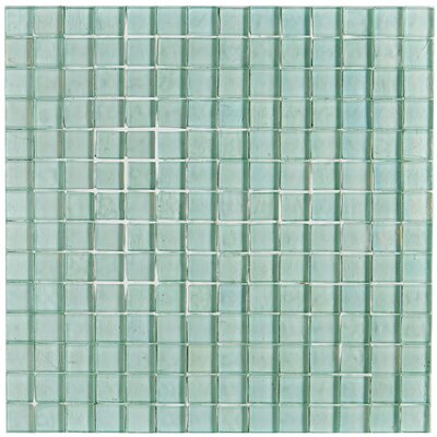 Williamsburg 0.75 x 0.75 Mosaic Field Tile in Sea Glass