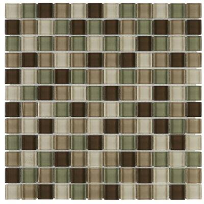Geneva 1 x 1 Mosaic Field Tile in Sweet Escape