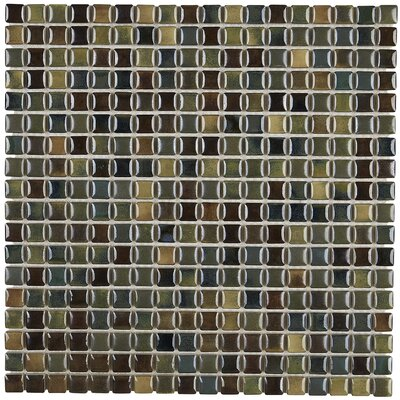 Morrison 0.63 x 0.63 Glass Mosaic Tile in Meadow