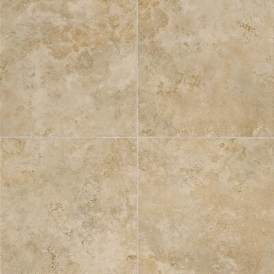 Alessi 20 x 20 Porcelain Field Tile in Dorato