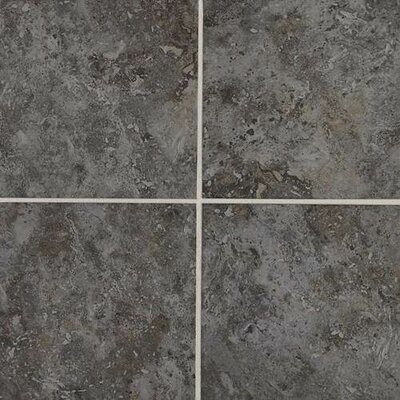 Heathland 18 x 18 Ceramic Field Tile in Dark Taupe