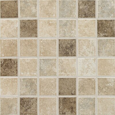 Stratford Place 2 x 2 Ceramic Mosaic Tile in Stratford Blend