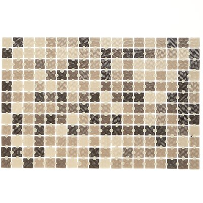 Lexington 1 x 1 Mosaic Tile in Pearl Brown