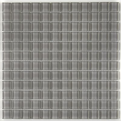 Geneva 1 x 1 Porcelain Mosaic Field Tile in Ice White