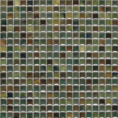 Fashion Accents 0.63 x 0.63 Glass Mosaic Tile in Meadow