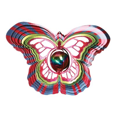 Designer Gazing Butterfly Wind Spinner