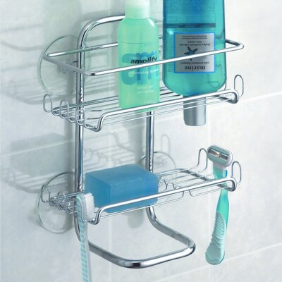 Sheena Suction Shower Shelves 60466