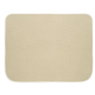 Solid Doormat Rug Size: 16 x 2, Color: Wheat