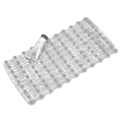 Bath Mat Color: Clear