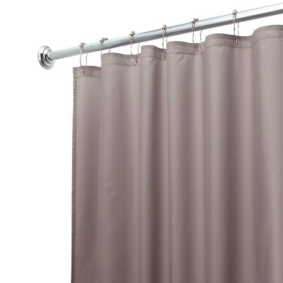 Shower Curtain Liner Color: Gray