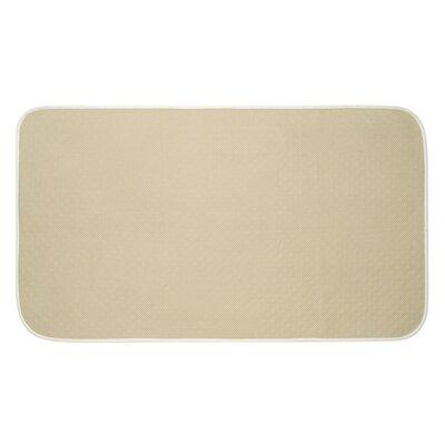 "Inter Design Dry Bath Mat - Color: Wheat, Rug Size: 1'6"" x 2'7"""