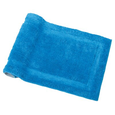 Spa Bath Rug Color: Azure