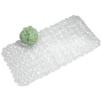 Pebblz Bath Mat Color: Clear
