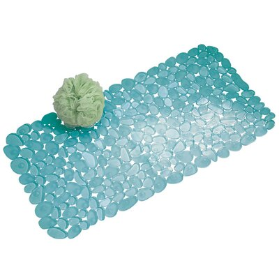 Pebblz Bath Mat Color: Blue