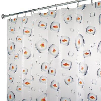 PVC Bubblefish Shower Curtain