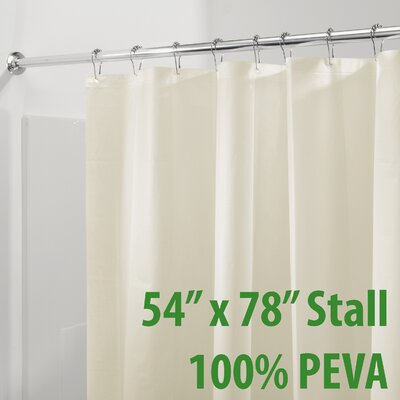 Mildew Free PEVA 3 Gauge Shower Curtain Liner