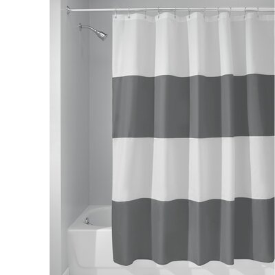 Mildew-Free Water-Repellent Zeno Shower Curtain