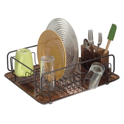Forma Lupe Kitchen Dish Drainer Rack with Tray