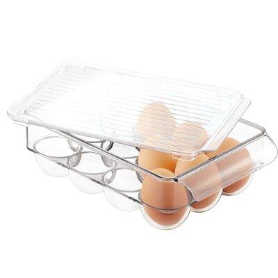 Covered 12 Egg Holder Fridge Bin 73030
