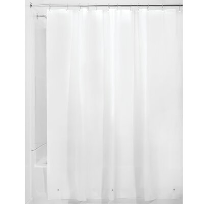 Sindy Shower Curtain Liner Color: White