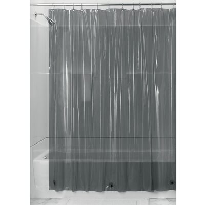 Lourie Shower Curtain Liner Color: Smoke