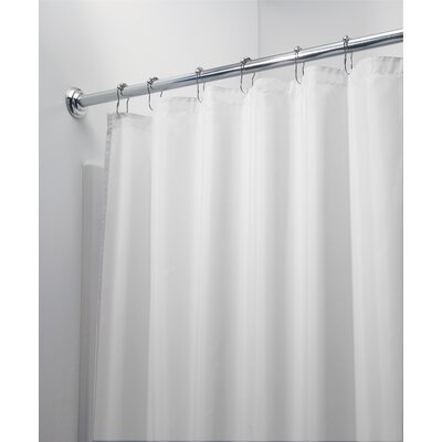 Margy Shower Curtain Color: White